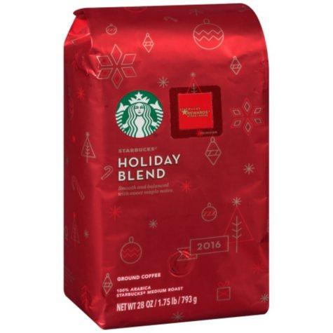OFFLINE-Starbucks Holiday Roast and Ground (28 oz.)