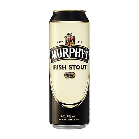 Murphy's Irish Stout (14.9 fl. oz. can, 4 pk.)