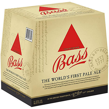 BASS PALE ALE 12 / 12 OZ BOTTLES
