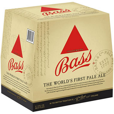 Bass Pale Ale (12 fl. oz. bottle, 12 pk.)