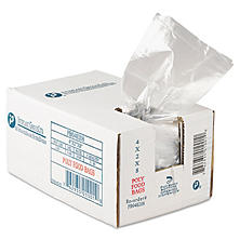 "Food and Utility Poly Bags,1 pint (4""x 2""x 8"", 1000ct.)"