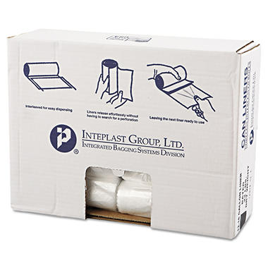 Coreless Interleaved Rolls 12-16 gal. Trash Bags (1,000 ct.)