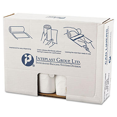 Coreless Interleaved Rolls 55-60 gal. Trash Bags (200 ct.)