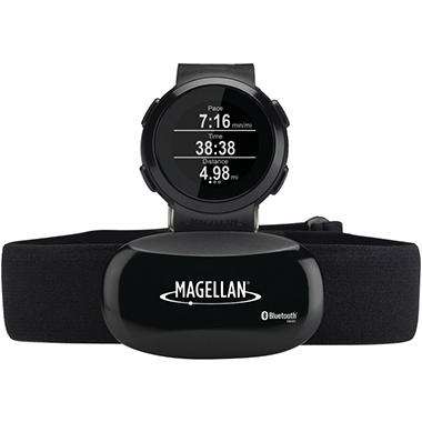Magellan TW0100SGHNA Echo Fitness Watch with Heart Rate Monitor - Choose Color
