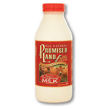 Promised Land Whole Milk (14 fl. oz., 6 pk.)
