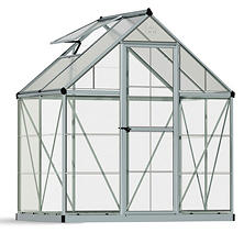 Palram 6' x 4' Greenhouse - Silver