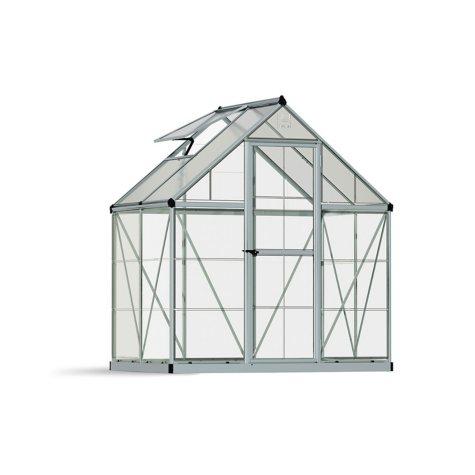 Palram 6' x 4' Greenhouse - Silver