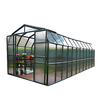 Grand Gardener 2 Twin Wall 8' x 20' Greenhouse