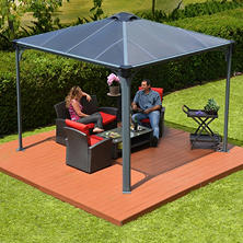 Palram Palermo™ Gazebo, Multiple Sizes