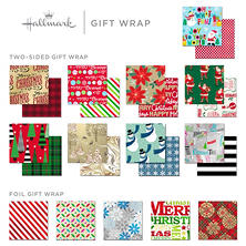 Expressions from Hallmark Reversible Roll Wrap (Choose Your Style)