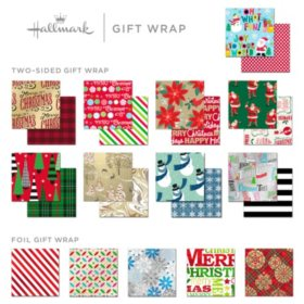 Hallmark Holiday Roll Wrap