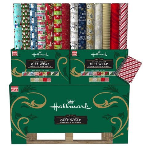 Hallmark Holiday Roll Wrap
