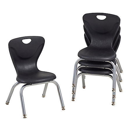 """12"""" Contour Chair Swivel Glide, 4-Pack (Assorted Colors)"""