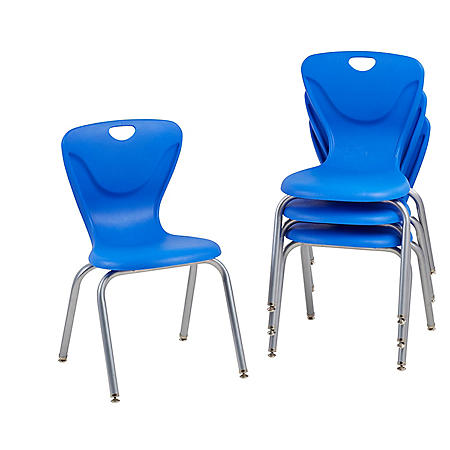 "18"" Contour Chair Swivel Glide, 4-Pack (Assorted Colors)"
