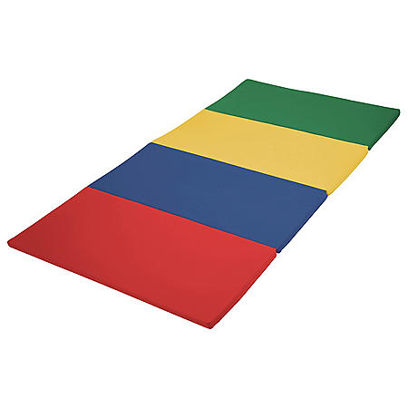 SoftScape 4ft x 8ft Runway Tumbling Mat - Assorted