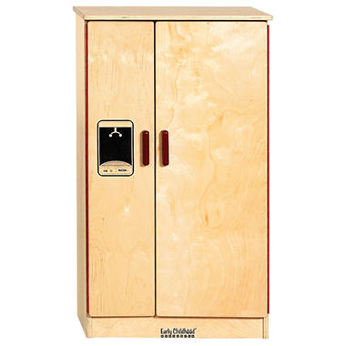Dramatic Play Wood Refrigerator