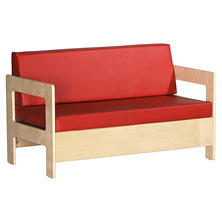 Children's Natural Finish Sofa