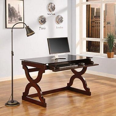 omega computer desk sam 39 s club. Black Bedroom Furniture Sets. Home Design Ideas