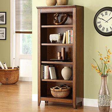 Addison Collection 5 Shelf Bookcase Sam S Club