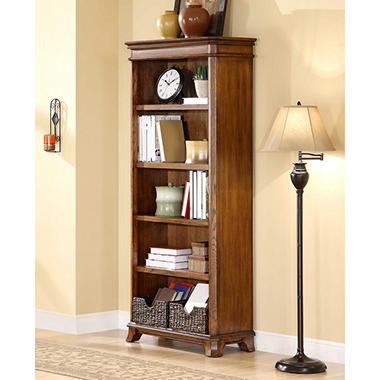 Whalen Furniture Belhaven Open Bookcase