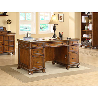 Whalen Furniture Belhaven Executive Desk