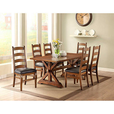 landry 7-pc dining set - sam's club