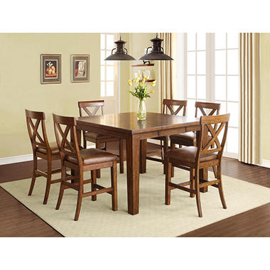 Kayden 7-Piece Counter Height Dining Set - Sam\'s Club