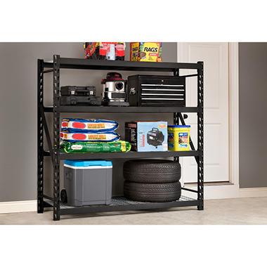whalen 4 shelf industrial rack