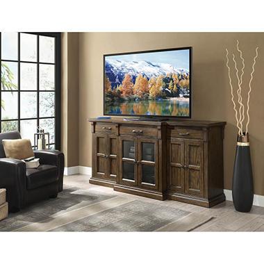 Hendricks 75quot tv stand media console sam39s club for Hendricks furniture