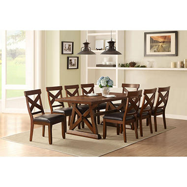 Keaton Table And Chairs 7 Piece Dining Set