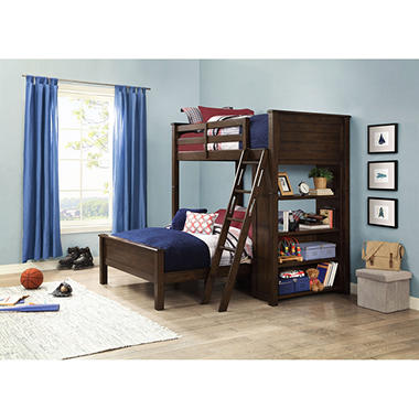 Landon Twin Over Full Loft Bunk Bed Sam S Club