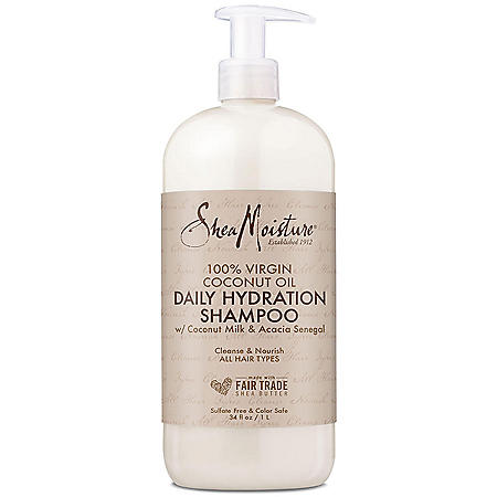 Shea Moisture Virgin Coconut Oil Shampoo (34 oz.)