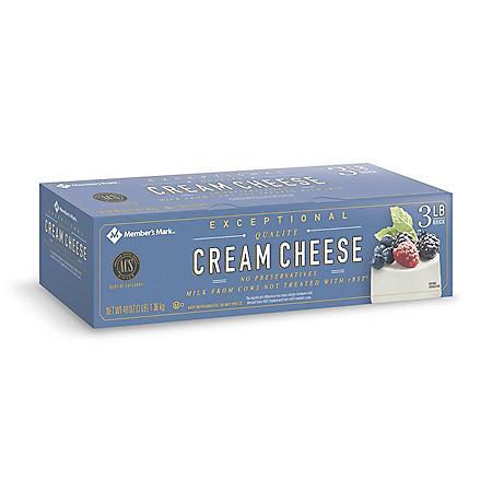 Member's Mark Cream Cheese (3 lbs.)