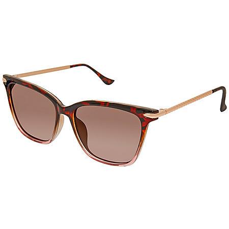 Free Country Women's Polarized Fashion Sunglasses