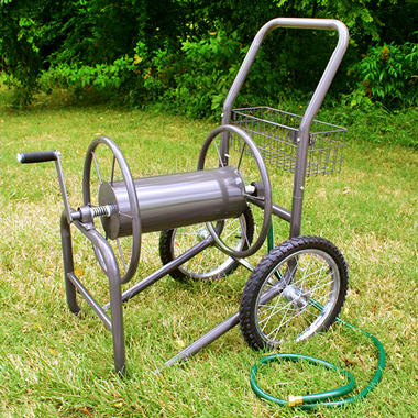 2 Wheel Hose Cart