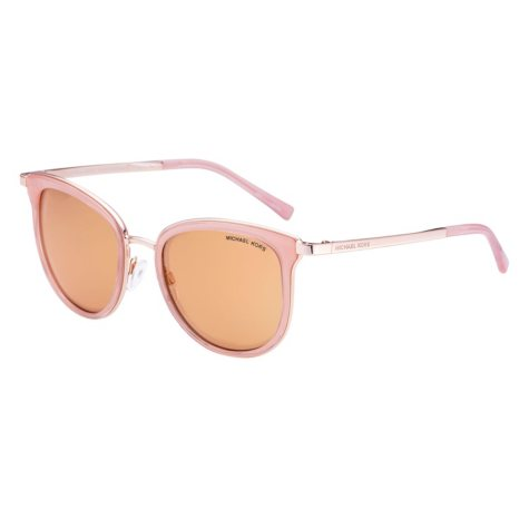 Michael Kors Square Sunglasses, Rose Gold/Rose Gold