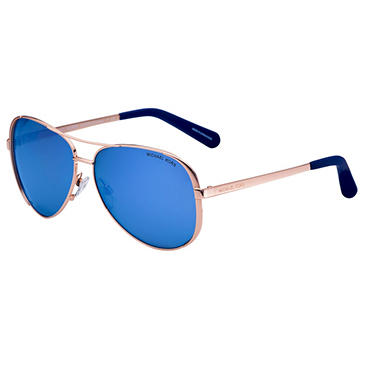 Michael Kors Sunglasses Chelsea, Rose Gold/Purple