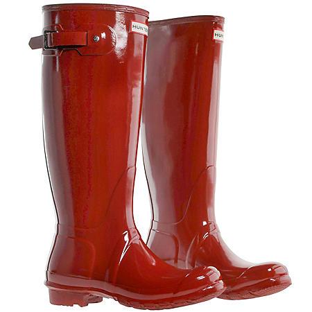Womens Tall Hunter Rain Boots (Various Styles)