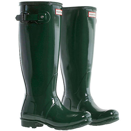 Womens Tall Hunter Rain Boots (Various Styles)