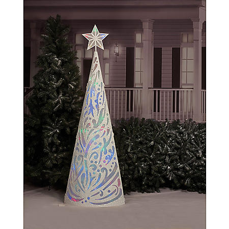 84IN LED CONE TREE W/ 8 FUNCTIONS