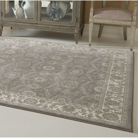 Avenue33 Regency Newhall Gray Rug (Assorted Sizes)