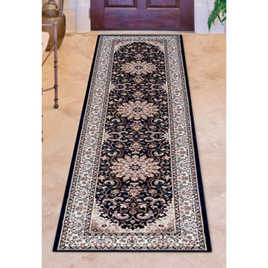 Avenue33 Regency Wesley Black Rug (Assorted Sizes)