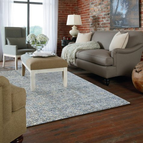 Destra Tonal Rug Blue (Assorted Sizes)