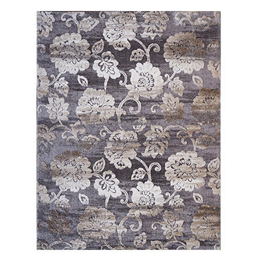 Avenue33 Navarre Gray Malaga Area Rug (Assorted Sizes)