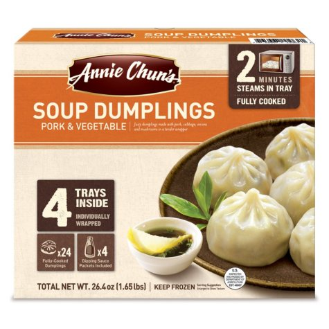 Annie Chun's Soup Dumplings, Pork & Vegetable (4 pk.)