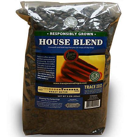 JTCWhole Bean Coffee House Blend - 2.5lb