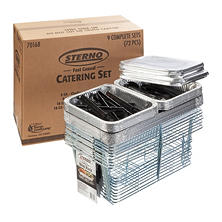 Sterno 72-Piece Catering Set