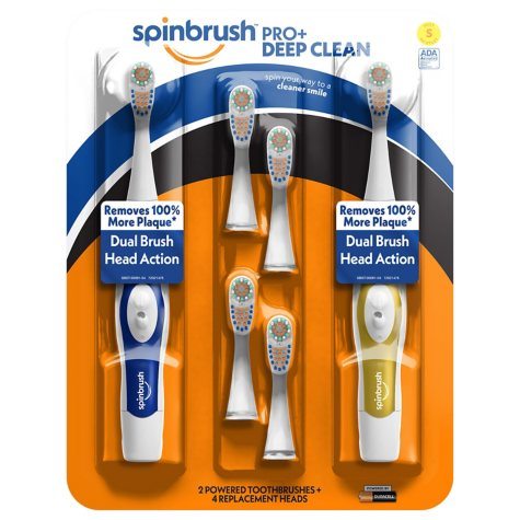 ARM & HAMMER Spinbrush Pro Clean Electric Toothbrush