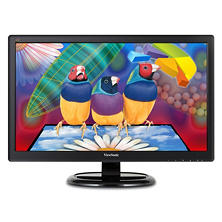 "ViewSonic's VA2465SMH,  23.6"" Wide LCD  1920 x1080  VGA  HDMI  Speaker  VA65-ID,  Black"