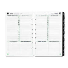 Day-Timer Dated Planner Refill - 1 Page/Day